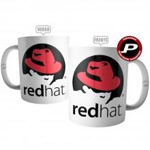 Caneca Red Hat Linguagem Ti Dev Linux