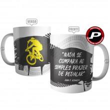 Caneca Ciclista Bike Bicicleta Ciclismo Frase Pedalar