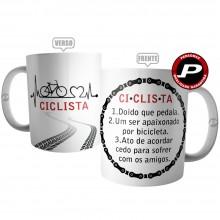 Caneca Ciclista Significado Bike Bicicleta Ciclismo