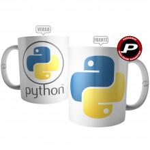 Caneca Python Dev Linguagem Programação Ti