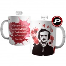 Caneca Frase Edgar Allan Poe Poeta Escritor Literário