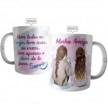 Caneca Amiga Anjo Irmã do Coração - Presente para Amiga