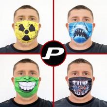 Máscara de Tecido Lavável Estampada