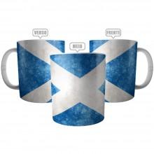 Caneca Bandeira da Escócia - Mug Flag Scotland