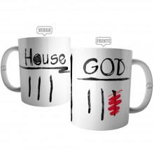 Caneca Dr. House x God