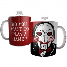 Caneca Do Want to Play a Game?