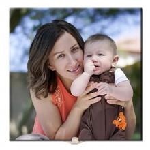 Quadro de Azulejo Personalizado com Foto para o Dia das Mães