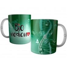 Caneca Bio Medicina -  Curso e Profissão