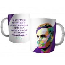 Caneca Frase do Cientista Alan Turing
