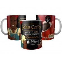 Caneca John Coffey - Como Café, Mas se Escreve Diferente