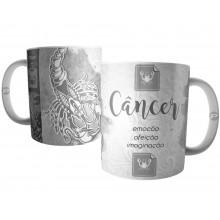 Caneca Signo de Câncer - Coleção Horóscopo