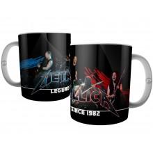 Caneca da Banda Metallica