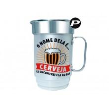 Caneca de Chopp Carnaval - O Nome Dela é Cerveja + Cordão