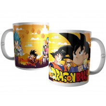 Caneca Goku e Personagens do Dragon Ball Z