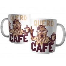 Caneca Quero Café - Mulher