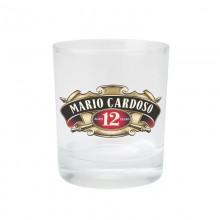 Copo de Whisky de Vidro com Rótulo Personalizado