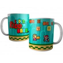 Caneca Game Geek - Super Kidd Bros