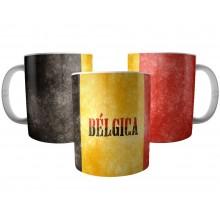 Caneca Bandeira da Bélgica