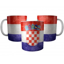Caneca Bandeira da Croácia