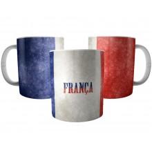 Caneca Bandeira da França