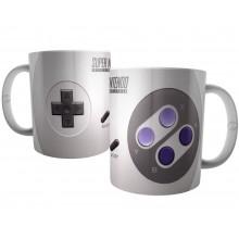 Caneca Botões Joystick Super Nintendo