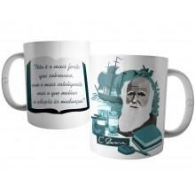 Caneca Frase Charles Darwin
