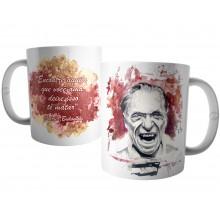 Caneca Frase Escritor Charles Bukowski