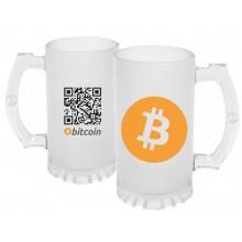 Caneca de Chopp Bitcoin