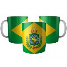 Caneca Bandeira Brasil Império