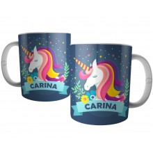 Caneca Unicornio Personalizada com Nome