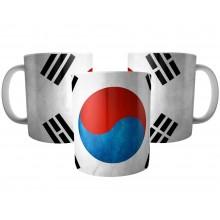 Caneca Bandeira da Coréia do Sul