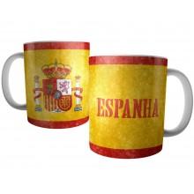Caneca Bandeira da Espanha