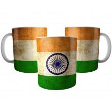 Caneca Bandeira da Índia