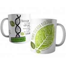 Caneca Biologia Profissão Biólogo